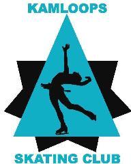 Kamloops Skate club Good Logo with writing