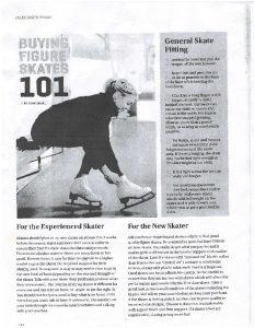 thumbnail of Buying Figure Skates 101 by Dave Drake. Blade Runner (1)